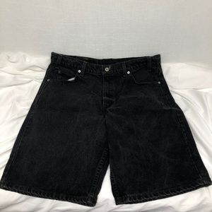 Levi's 550 Relaxed Fit Size 36 Black Men's Shorts